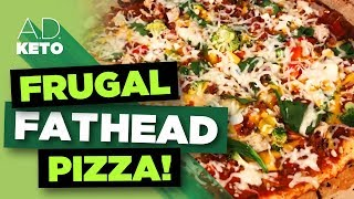 Low-Carb (Fathead) Pizza | How to get LOADS of toppings for under $5.00!