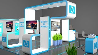 Cinema 4D Tutorial How To Create An Exhibition Stand