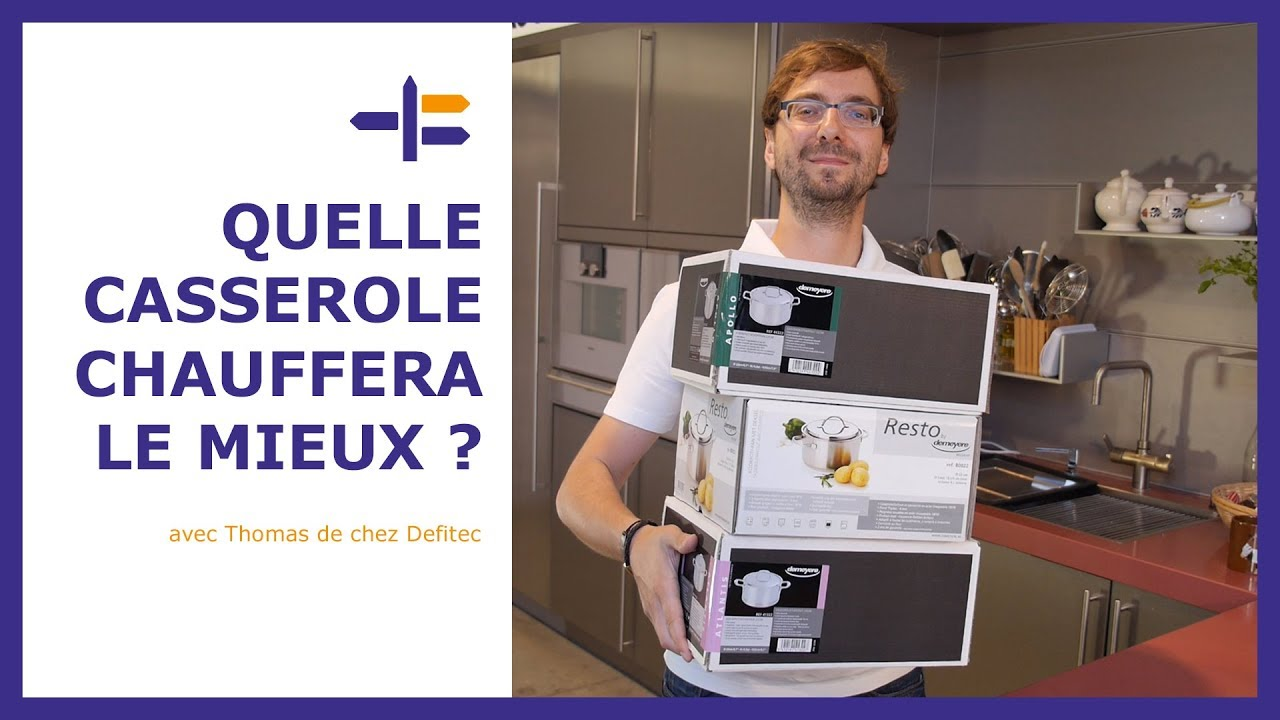 Test et comparaison des casseroles Demeyere - Trucs et Astuces de Thomas