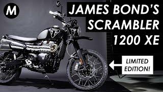 New 2020 Triumph Scrambler 1200 Bond Edition Announced - James Bond 007's Scrambler Limited Edition
