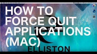 How to Force Quit Applications (Mac)