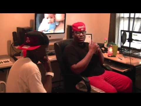 PHLY GUY AND CHRIS LEE IN A STUDIO SESSION RECORDING GAME WINNING STROKE