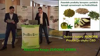 Dobro Z Natury   KONOPIE, Produkcja Olejku CBD, Michał Galiński