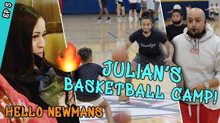 Jaden & Julian Newman Run The 1ST EVER Prodigy Basketball Camp...Right After MOVING OUT! 😱