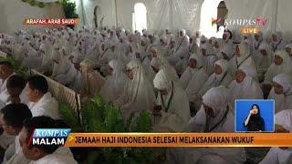 Jemaah Haji Indonesia Selesai Laksanakan Wukuf