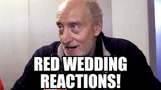 Game of Thrones Red Wedding Reactions - Tywin, Arya, Hodor, Blackfish, Margaery, Loras, Talisa