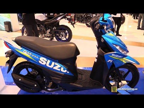 2017 Suzuki Address 115 Moto GP Scooter – Walkaround – 2016 EICMA Milan