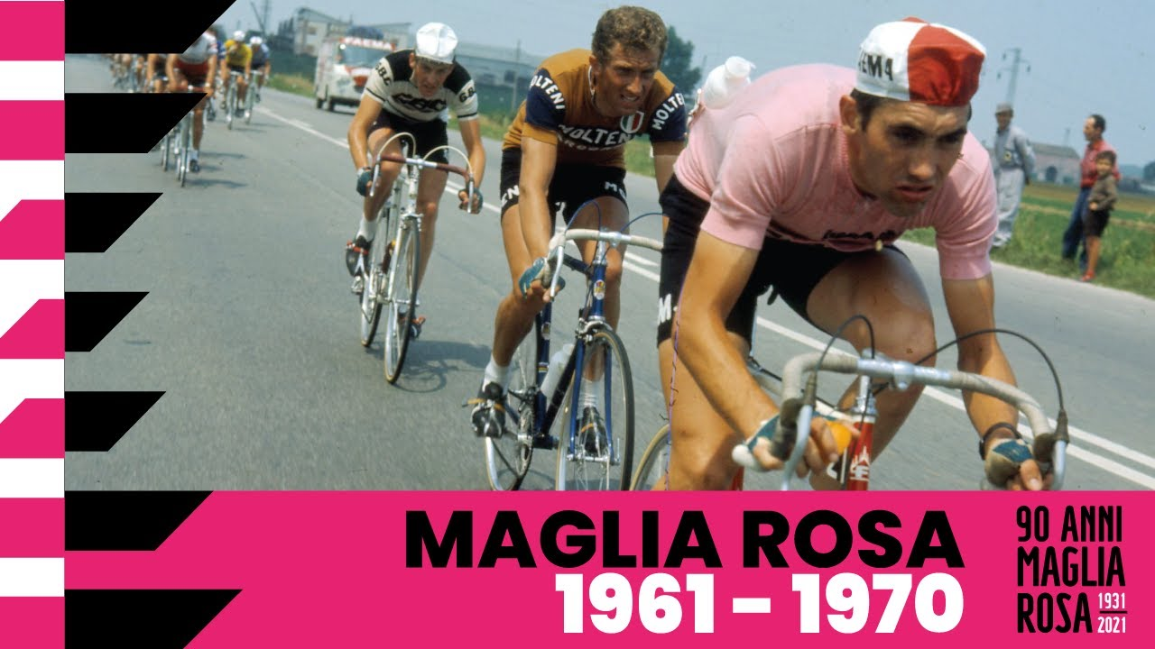 90Anni Maglia Rosa: 1961 – 1970
