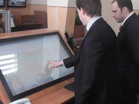 GPS-ВИДЕО Сенсорная навигация с видеоконтролем