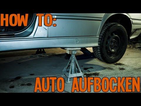 AutoNerds - How to   Auto aufbocken