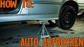 How to | Auto aufbocken | Autonerds