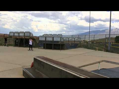 Skateboarding Fun In RioRancho