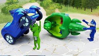 МУЛЬТИКИ ПРО МАШИНКИ игрушки Герои в Масках у видео для детей Под маской!