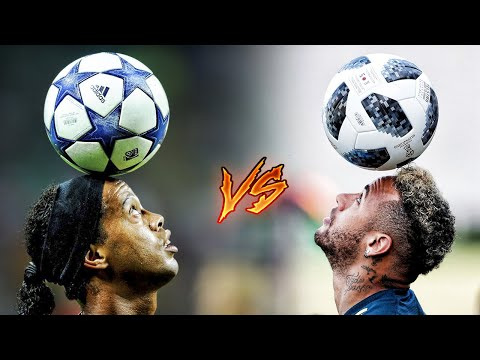 Neymar Jr vs Ronaldinho ● Insane Freestyle Skills