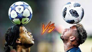 Neymar Jr vs Ronaldinho ● Insane Freestyle Skills