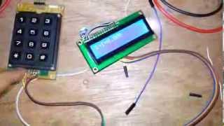 Calculator with AVR