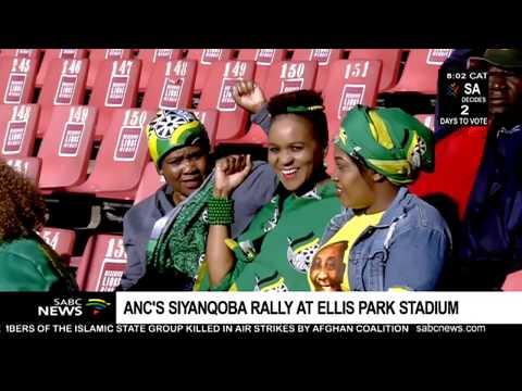 UPDATE: ANC Holds Its Siyanqoba Rally At Ellis Park Stadium - 5 22