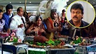 Chiranjeevi Interesting Movie Scene   Telugu Movies   70MM Movies