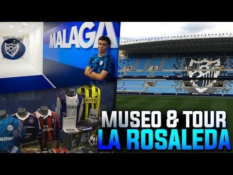 MUSEO y TOUR del ESTADIO LA ROSALEDA   MÁLAGA CF
