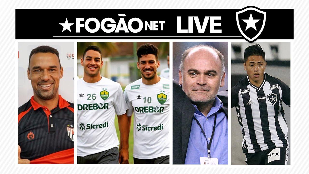 LIVE DE SEXTA – Botafogo aguarda mais 3 reforços; Lecaros fora dos planos; penhora da Odebrecht