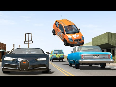 Traffic Crashes #13 - BeamNG DRIVE | SmashChan