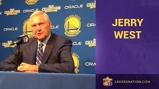 Jerry West's AMAZING Press Conference On Kobe Bryant (In Full)