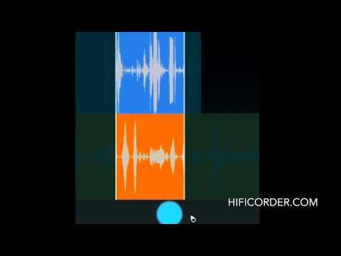 Video of HiFiCorder Record, Edit, Buy
