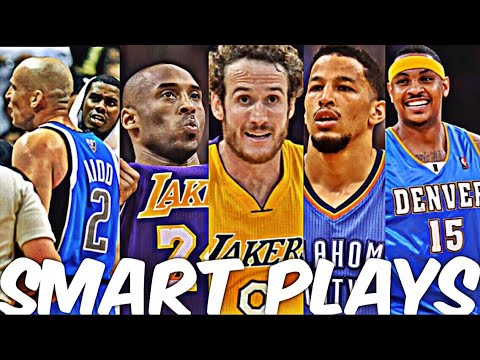 NBA Smartest Plays (Ultimate Compilation)
