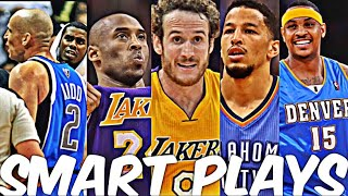 NBA Smartest Plays (Ultimate Compilation)