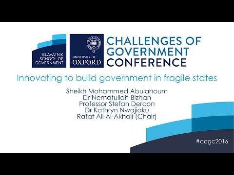 Innovating to build government in fragile states Q&A