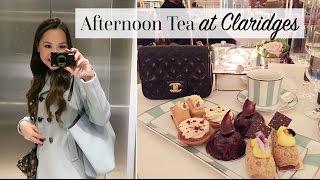 LondonVlog:AfternoonTeaatClaridges&aHarrodsSaleHaul!