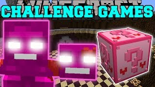 Minecraft: VALENTINE WITHER CHALLENGE GAMES - Lucky Block Mod - Modded Mini-Game