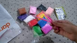 Unboxing clay from daraz.pk    queen of diy
