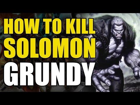 How To Kill DC's Zombie Hulk/Solomon Grundy (How To Kill Superheroes)