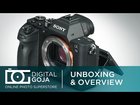 Sony Alpha A7S II Full-Frame Mirrorless Camera   Unboxing and Overview Video