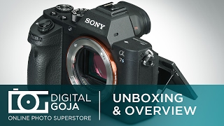 Sony Alpha A7S II Full-Frame Mirrorless Camera | Unboxing and Overview Video