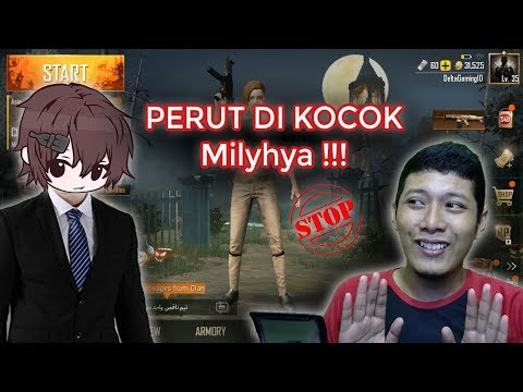 Reaction Video terbaru Milyhya    koplak abiz cuk !! - Battlegrounds - Indonesia