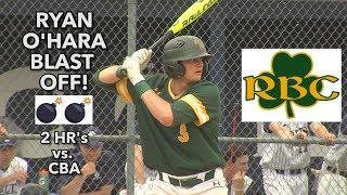 Red Bank Catholic 6 CBA 3 | MCT Semifinals | Ryan O'Hara 2 HR's