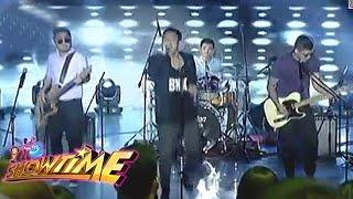 Banda ni Kleggy rocked It's Showtime stage