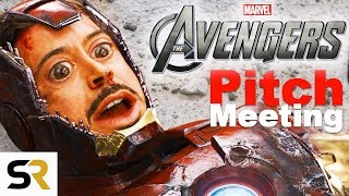 The Avengers Pitch Meeting
