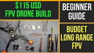 How To Build Budget Long Range FPV Drone // Eachine Tyro129 Beginner Build Guide