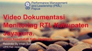 Monitoring RTL Dinkes Kab. Jayapura – PML Papua