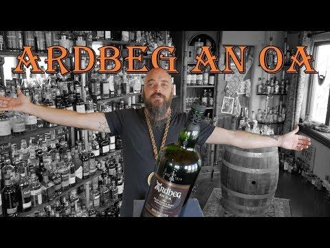 Whiskey Review – Ardbeg An Oa single malt scotch whisky  Ep: 241
