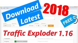 Traffic Exploder v1.16 2018 Download Free with Username and Password