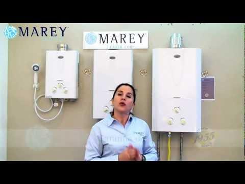 Marey Heater - Calentadores de Agua sin Tanque a Gas