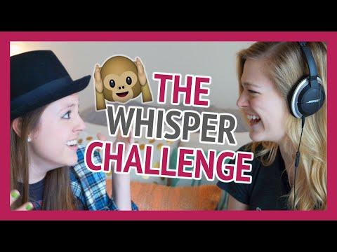 THE WHISPER CHALLENGE! (feat. Lexi Giovagnoli)