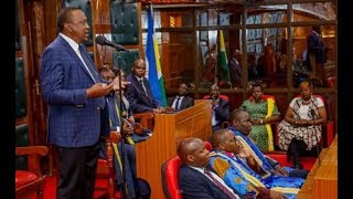 Uhuru to MPs: End revenue row now - VIDEO