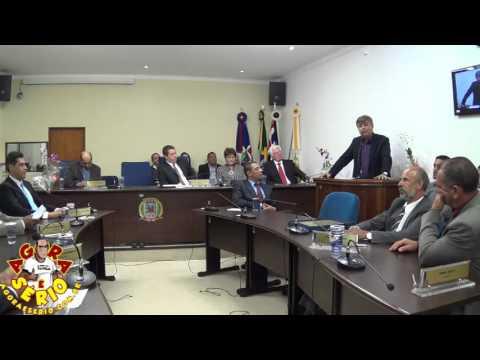 Sessão Solene dia 24 de Março de 2016 - Prefeito Fernandão de São Lourenço da Serra