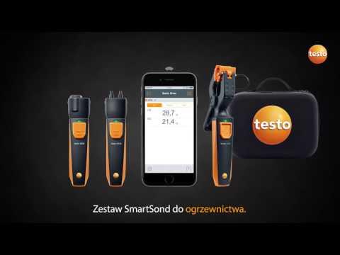 Zestaw SmartSond Testo do ogrzewnictwa