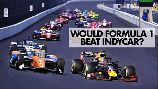 How Fast Would Formula 1 Go at the Indy 500?